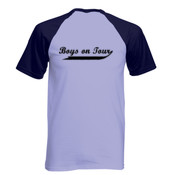 Boys On Tour - Short Sleeve Baseball T