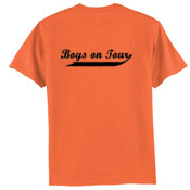 Boys On Tour - Tagless 100% Cotton T Shirt